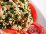Табуле - магданозена салата с домати и булгур